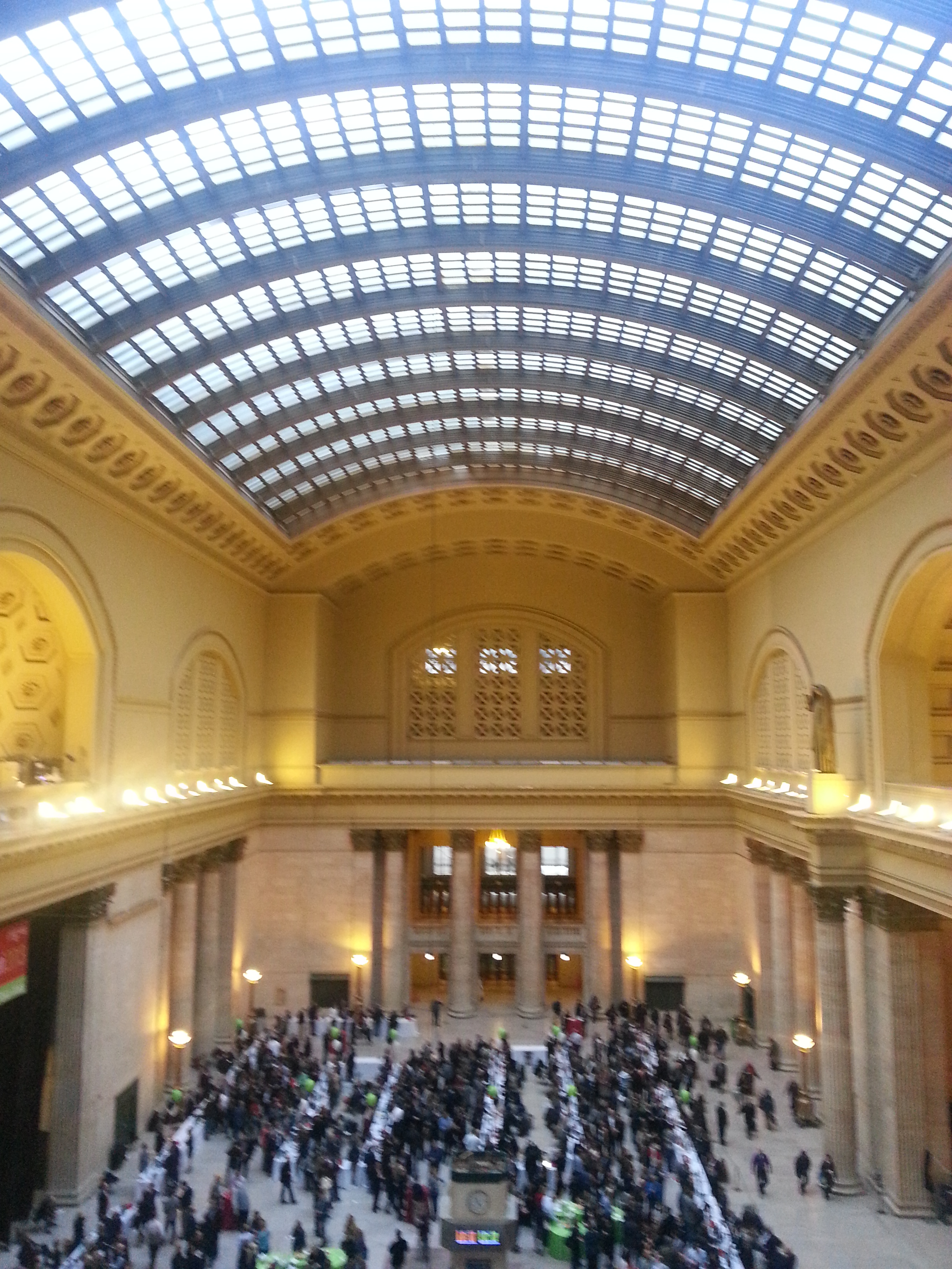 The Great Hall at Chicago Union Station.